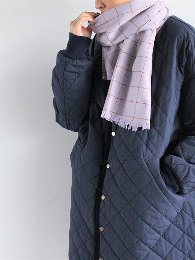 loomer Wool Cashmere Grid Muffler_b0139281_1638274.jpg
