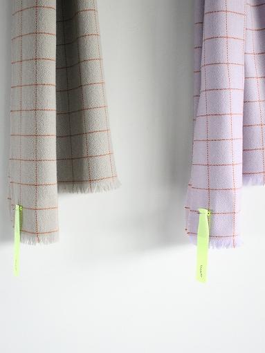 loomer Wool Cashmere Grid Muffler_b0139281_1638346.jpg