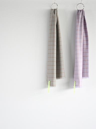 loomer Wool Cashmere Grid Muffler_b0139281_16384320.jpg