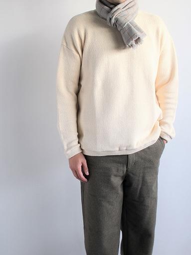 loomer Wool Cashmere Grid Muffler_b0139281_16385595.jpg