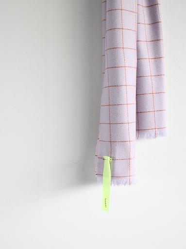 loomer Wool Cashmere Grid Muffler_b0139281_16392365.jpg