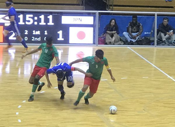 「ブラインドサッカー チャレンジカップ2019」 日本・モロッコ戦_a0163788_18504780.jpg