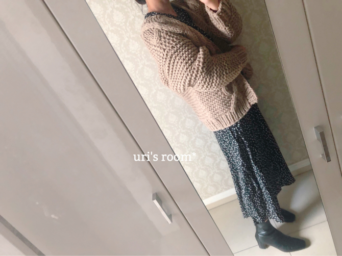 冬でもスカートを楽しみたい♪(´ε` )_a0341288_20262077.jpg