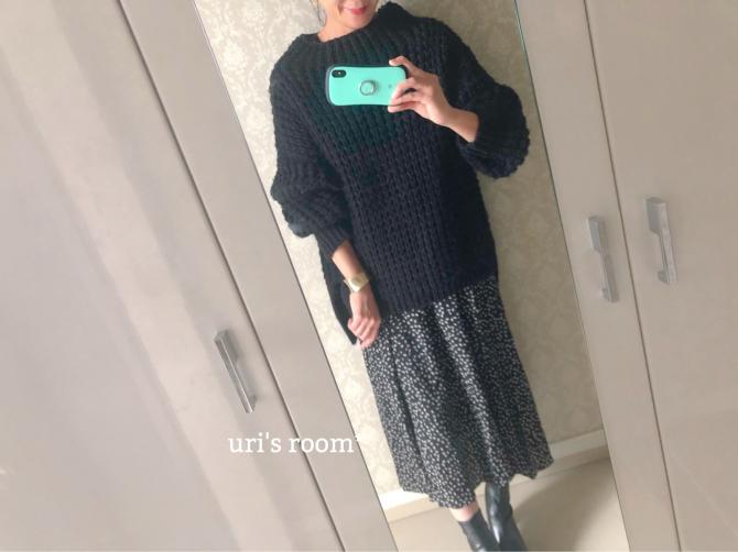 冬でもスカートを楽しみたい♪(´ε` )_a0341288_20270453.jpg