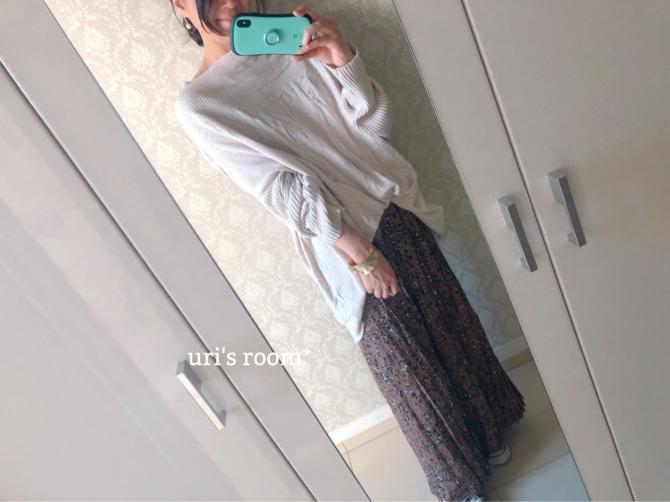 冬でもスカートを楽しみたい♪(´ε` )_a0341288_20272084.jpg