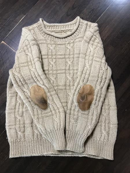 夫のセーターのリメイク_e0397389_11225925.jpeg