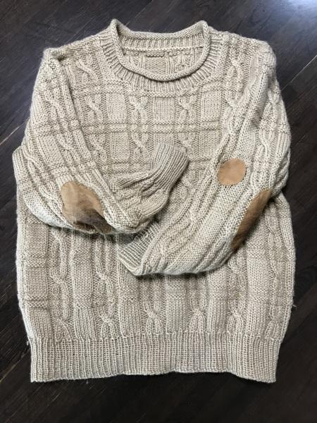 夫のセーターのリメイク_e0397389_11294956.jpeg