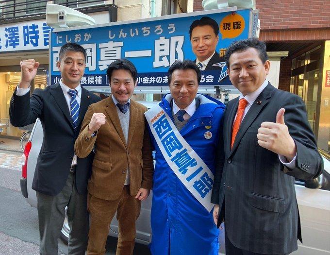 小金井市長選挙_c0092197_13150988.jpg