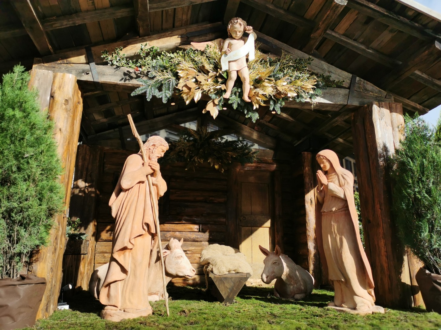 フィレンツェのクリスマスツリー点灯式_f0106597_21413530.jpg