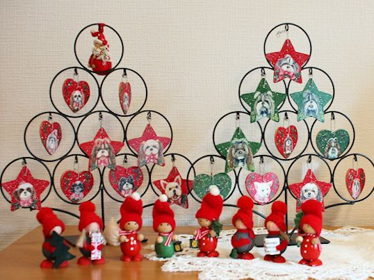 クリスマスオーナメント、やっと飾りました♪_c0090198_15140748.jpg