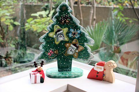 クリスマスオーナメント、やっと飾りました♪_c0090198_15165685.jpg