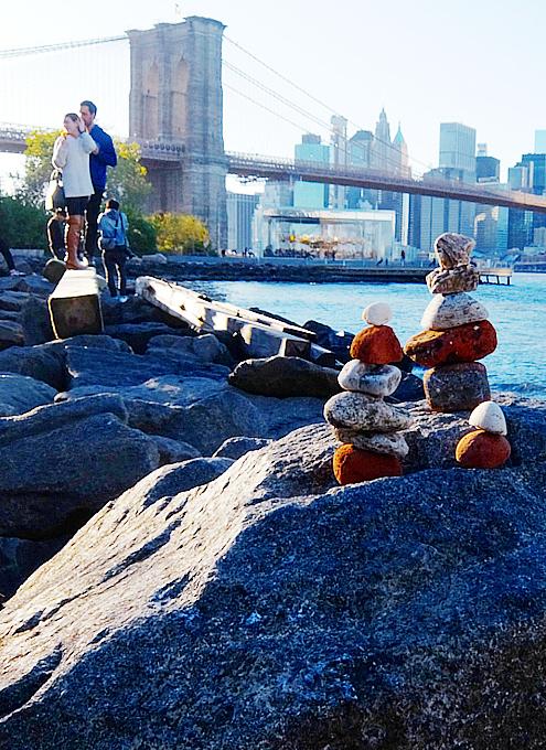 NY Brooklyn、夕暮れの人工海岸、ペブル・ビーチ(Pebble Beach)_b0007805_08105790.jpg