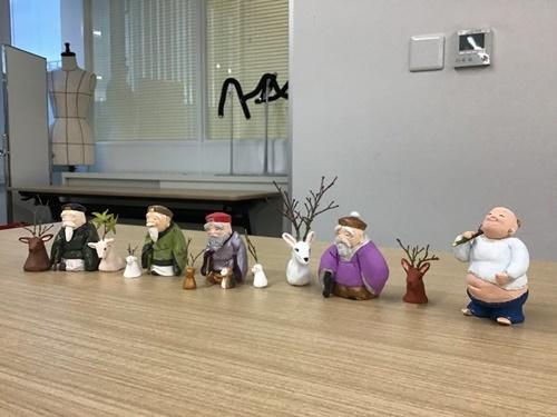 2日間短期集中講座【創作人形講座「寿老人」~プロの博多人形師が教えます~】_c0357605_17215630.jpg