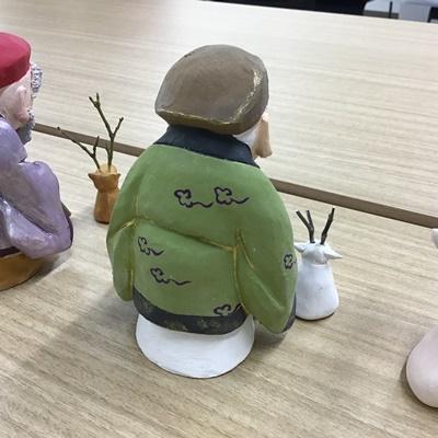 2日間短期集中講座【創作人形講座「寿老人」~プロの博多人形師が教えます~】_c0357605_17221290.jpg