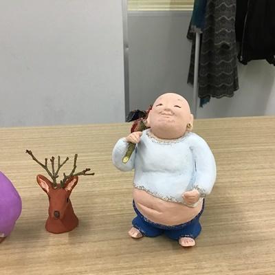 2日間短期集中講座【創作人形講座「寿老人」~プロの博多人形師が教えます~】_c0357605_17222147.jpg