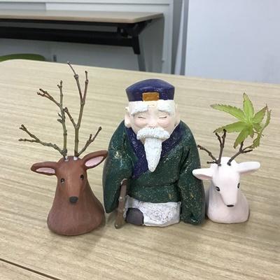 2日間短期集中講座【創作人形講座「寿老人」~プロの博多人形師が教えます~】_c0357605_17222183.jpg