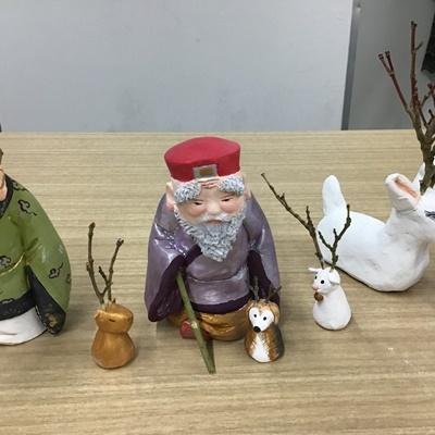 2日間短期集中講座【創作人形講座「寿老人」~プロの博多人形師が教えます~】_c0357605_17222571.jpg