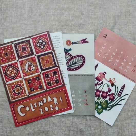 Yoko Kataoka さんのカレンダー2020_d0263607_21583942.jpg