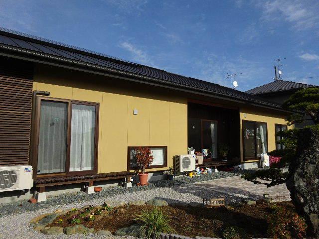 木製塀 台風19号の被害復旧工事_f0105112_04171109.jpg