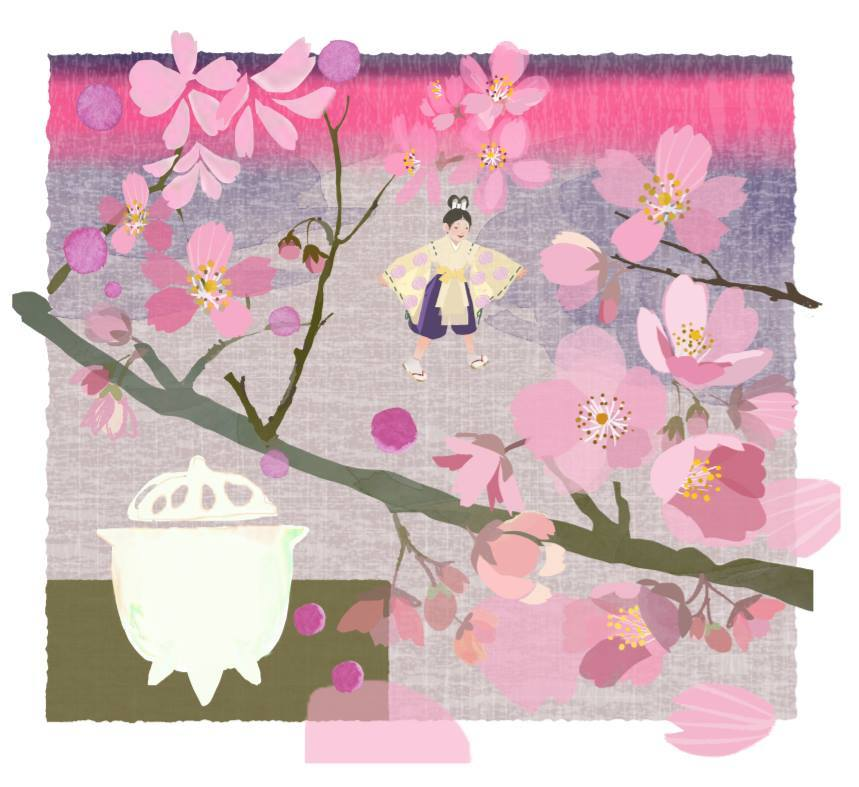 作品「sakuragari ko」_f0172313_09020867.jpg