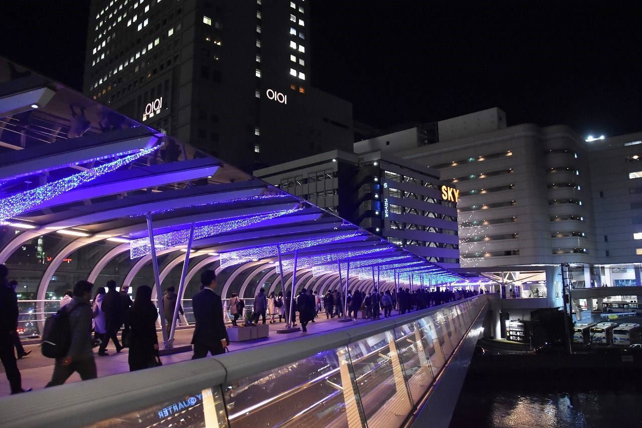 Yokohama illumination 光降る東口_d0065116_21374529.jpg