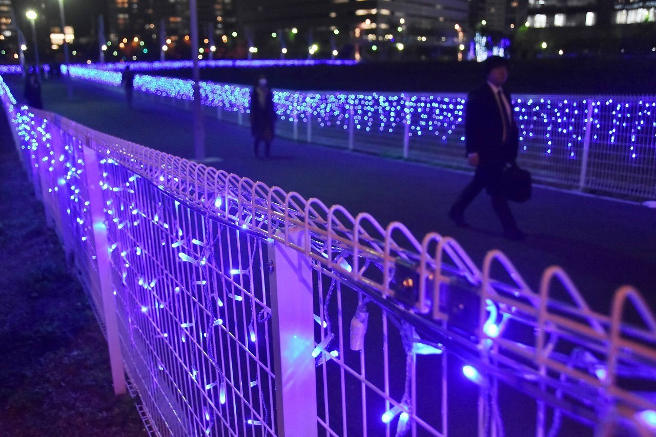 Yokohama illumination 光降る東口_d0065116_21390489.jpg