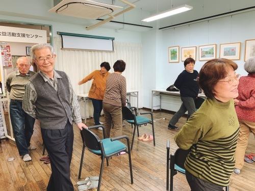懐メロ体操教室&スマホ教室_c0113948_14275931.jpg