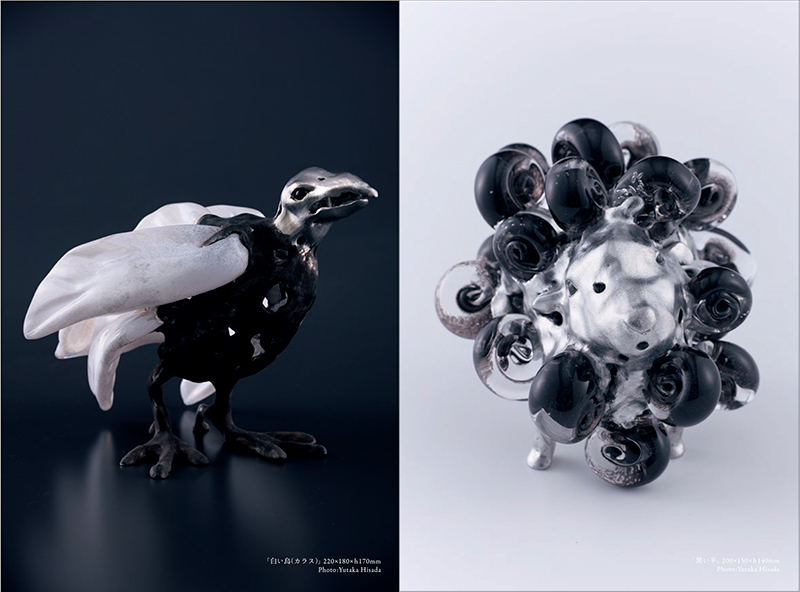 【細見博子作品展〜黒い羊と白い烏(カラス)】_a0017350_01281299.jpg