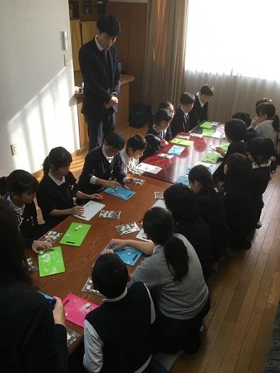 亀阜小学校6年団「和三盆体験」_c0227958_19253397.jpg