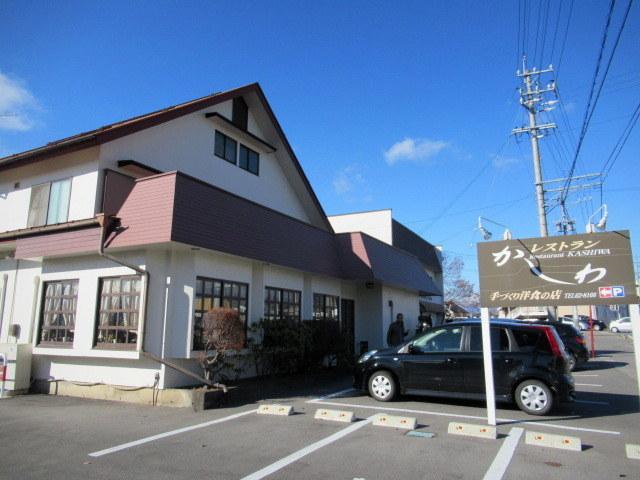佐久・レストランかしわ * メニュー豊富な手作り洋食の店♪_f0236260_22531796.jpg