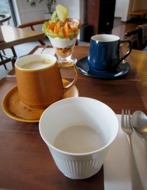 パニーニ&スープ ホリウチカフェ * Tea Timeに再訪♪_f0236260_23500778.jpg