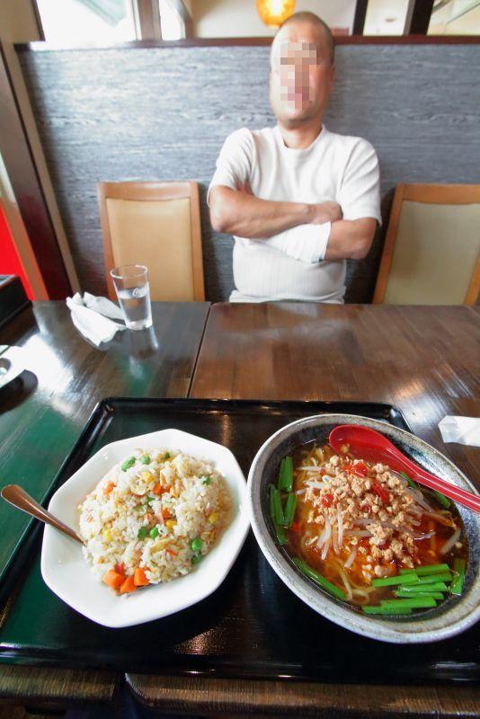 台湾料理 吉源で、ラーメンセットを食べる_a0077663_15564247.jpg