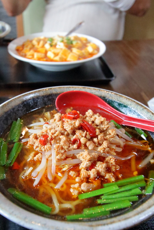 台湾料理 吉源で、ラーメンセットを食べる_a0077663_15564414.jpg