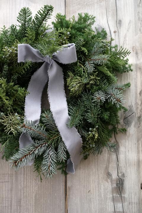 クリスマス リースレッスン_f0127281_19434449.jpg
