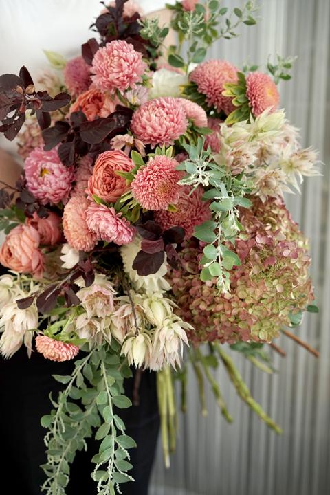 思いっきりたくさんのお花を束ねる_f0127281_20494888.jpg