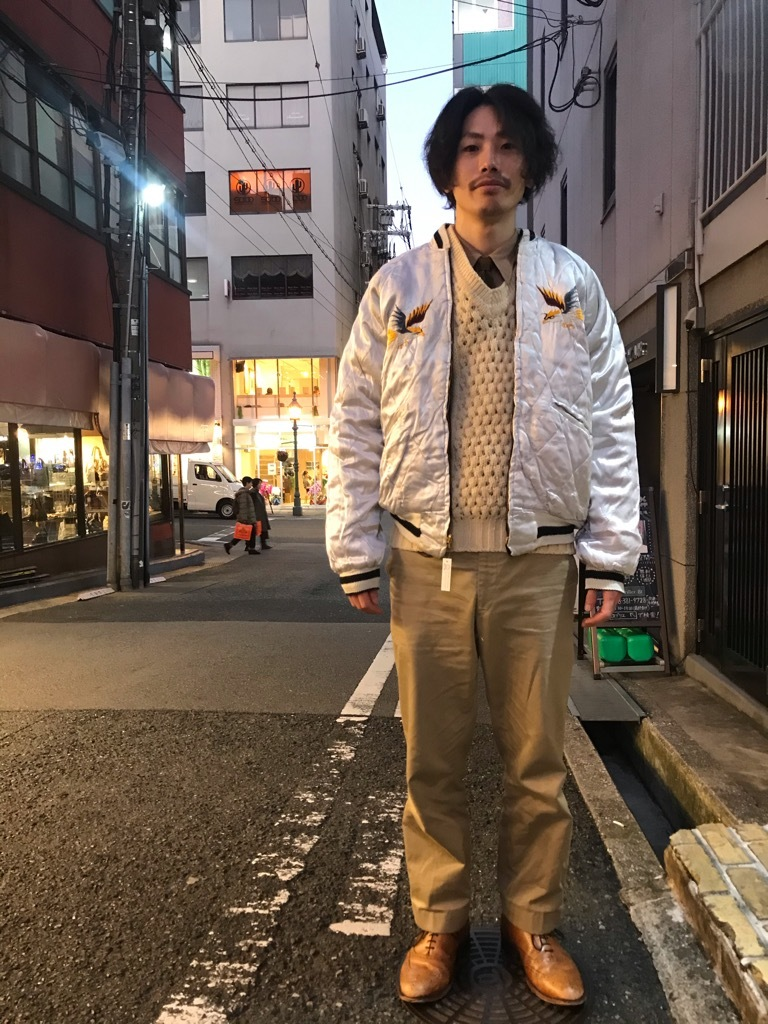 マグネッツ神戸店 12/14(土)Vintage入荷! #1 Souvenir Jacket!!!_c0078587_14203654.jpg