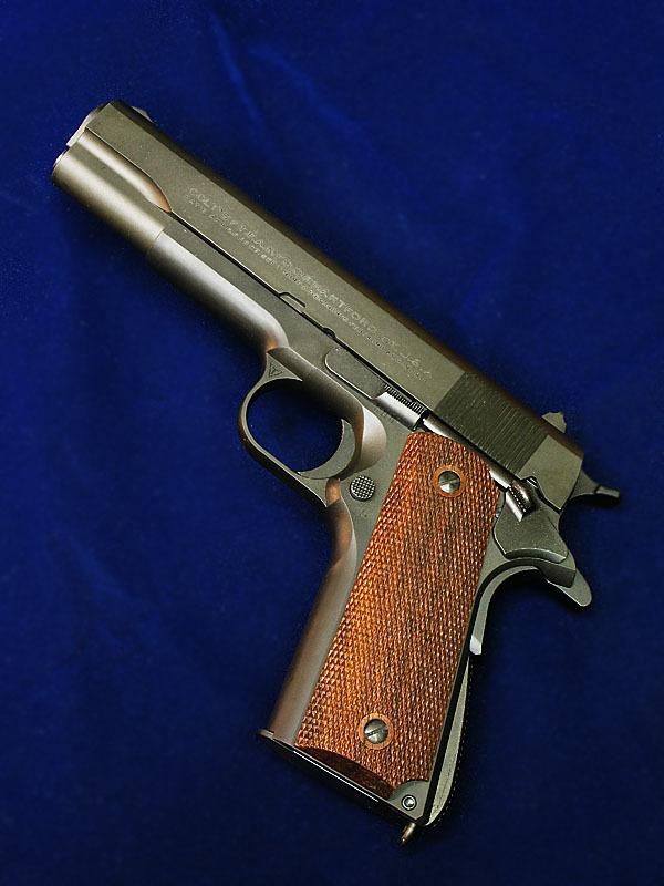 MULE &TANIO.KOBAコラボ  M1911A1ミリタリーコマーシャル  GM-7.5 ブラックHW _f0131995_13242879.jpg