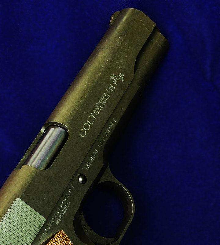 MULE &TANIO.KOBAコラボ  M1911A1ミリタリーコマーシャル  GM-7.5 ブラックHW _f0131995_13243143.jpg