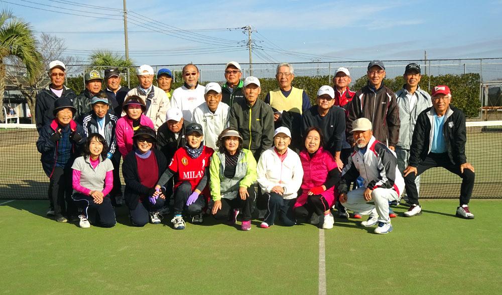 シニアテニスクラブ 2019忘年大会_b0114798_17055215.jpg