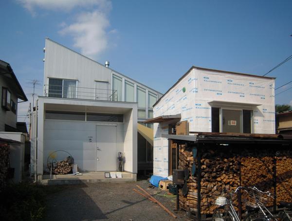 HOUSE-SI (佐野)は外壁下地完了!_c0148401_11115402.jpg