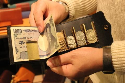 """「VASCO」 遊び心のある \""""LEATHER NAVAL MONEY CLIP\"""" ご紹介_f0191324_08574446.jpg"""