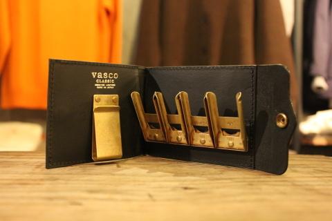 """「VASCO」 遊び心のある \""""LEATHER NAVAL MONEY CLIP\"""" ご紹介_f0191324_08591609.jpg"""