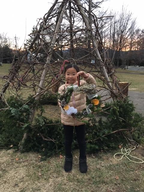 クリスマスリースづくり開催しました☆_b0174425_18230241.jpg