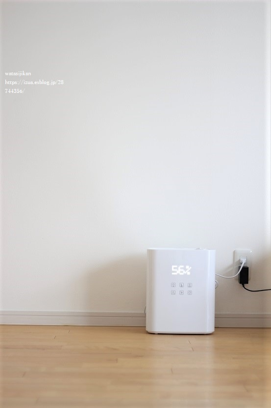 加湿器の導入で肝心の湿度は?_e0214646_20460690.jpg