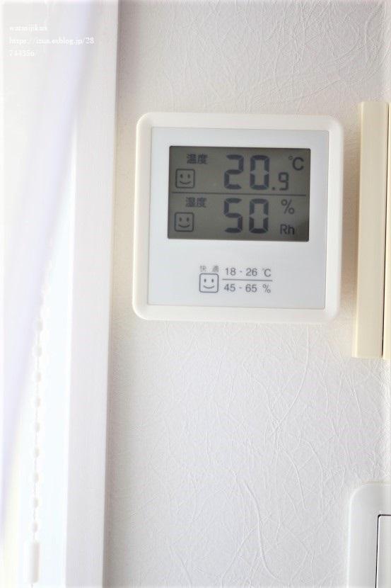加湿器の導入で肝心の湿度は?_e0214646_20471050.jpg