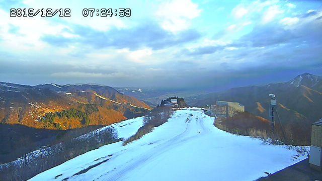 2019年12月12日 湯沢周辺のスキー場 朝のライブカメラチェック_e0037849_07302208.jpg