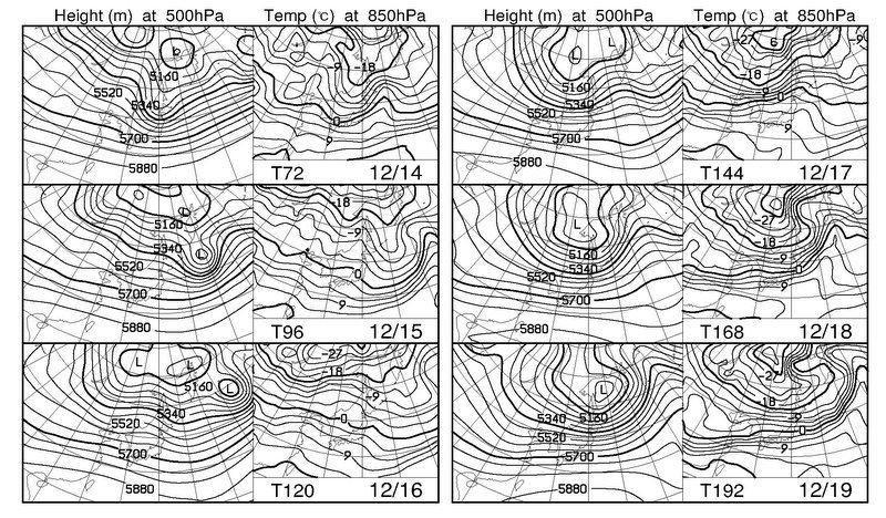 週間予報支援図+気象庁 1ヶ月予報(2019年12月12日発表)_e0037849_18073523.jpg