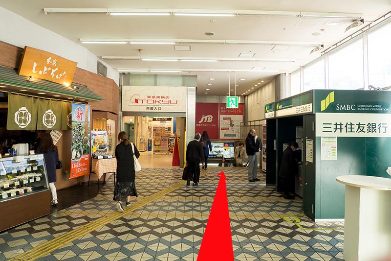 渋谷駅ガイド・井の頭線ー東横線_a0003650_16332154.jpg