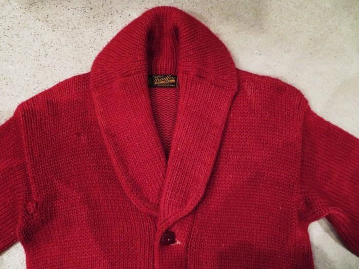 40\'s Shawl Collar Sweater Coat_e0187362_19381399.jpg