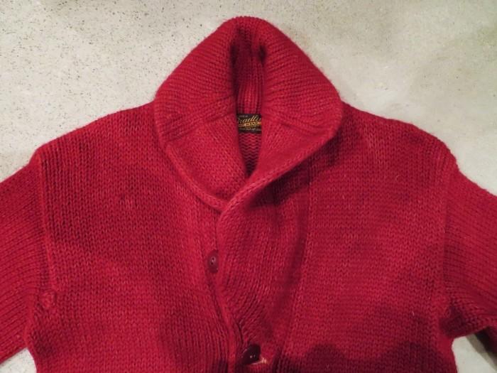 40\'s Shawl Collar Sweater Coat_e0187362_19451445.jpg